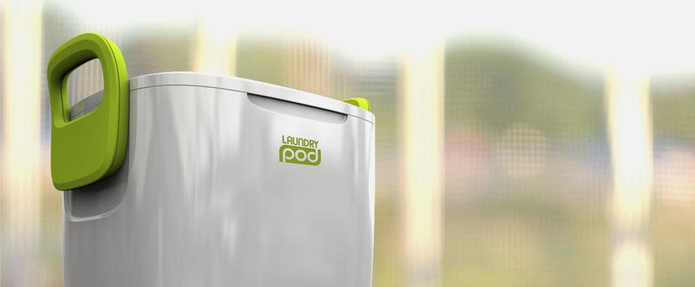 Laundry Pod   Hand powered washing machine
