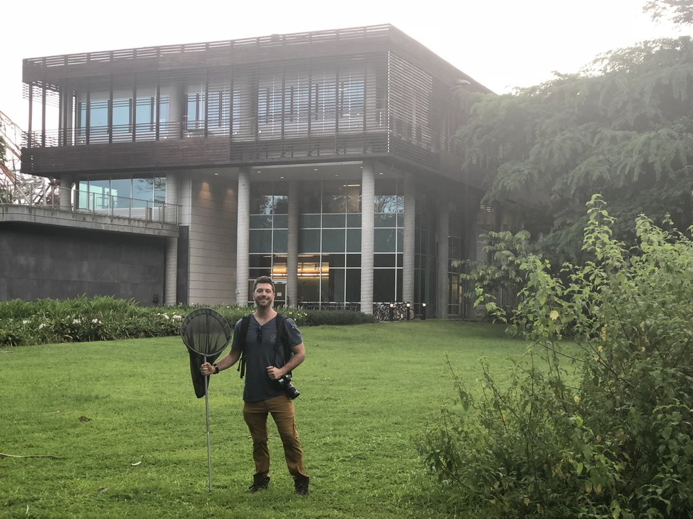 First visit to the Smithsonian Tropical Research Institute, Gamboa Panama