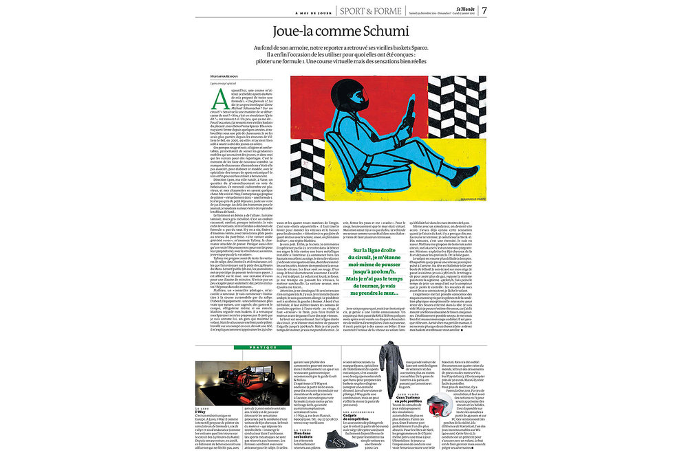 Le Monde - janvier 2012 (January 2012)