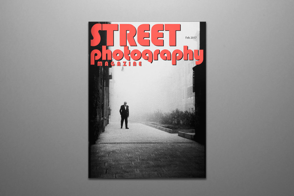 Street Photography Magazine #47 (couverture) - fév. 2017 (Feb. 2017, cover)