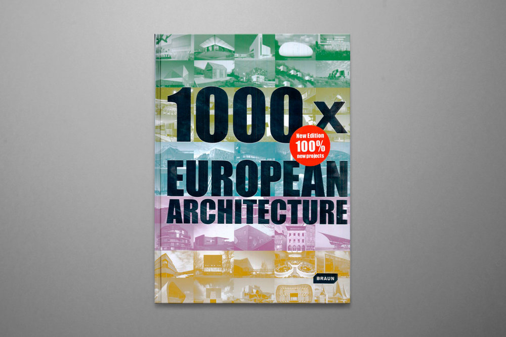 1000x European Architecture - 2nd Edition - Chris Van UffelenBraun Publishing2011ISBN : 978-3-03768-087-2
