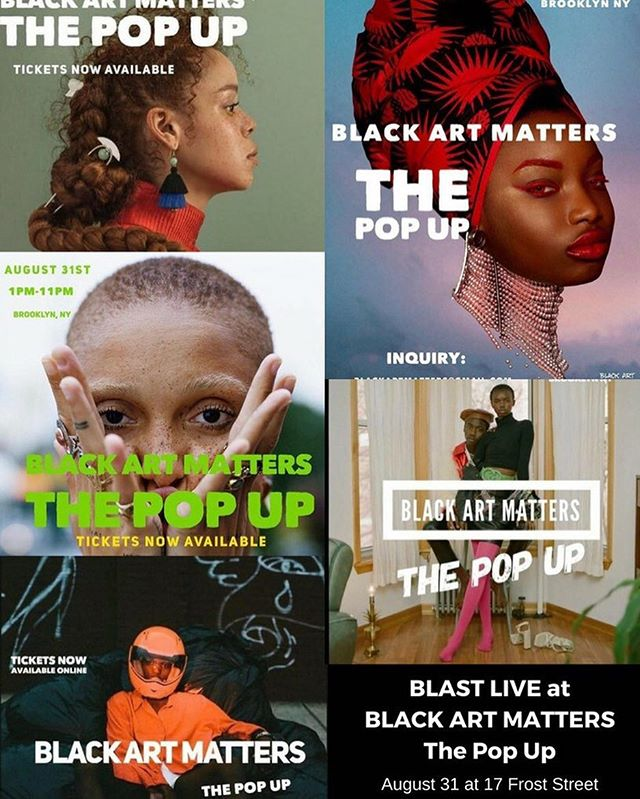 Honored to have @_iamblast_ performing at the @blackartmatterss #PopUp this Friday, August 31. We'll be joining many talented artists at 17 Frost Gallery - details and a link to purchase tickets are on our website now (Link in bio).