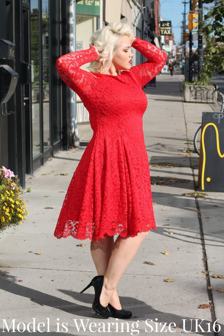 60fa7673ea Red Lace Cold Shoulder Dress. 40.00 80.00. sold out. IMG_7518.JPG