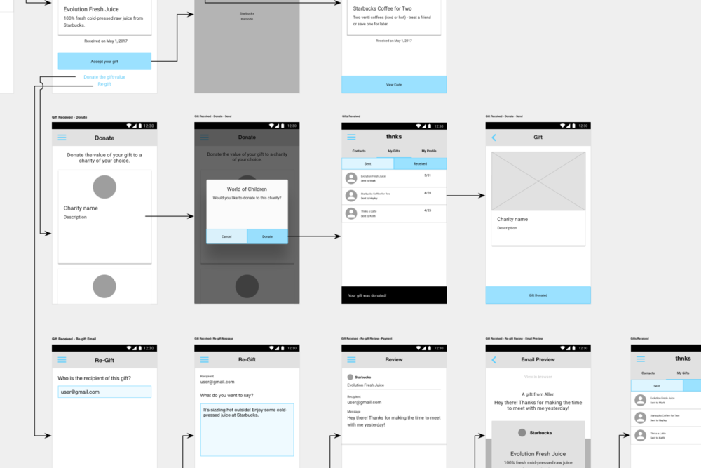 Thnks users primarily use Mobile. Here we walk through the web app on mobile.
