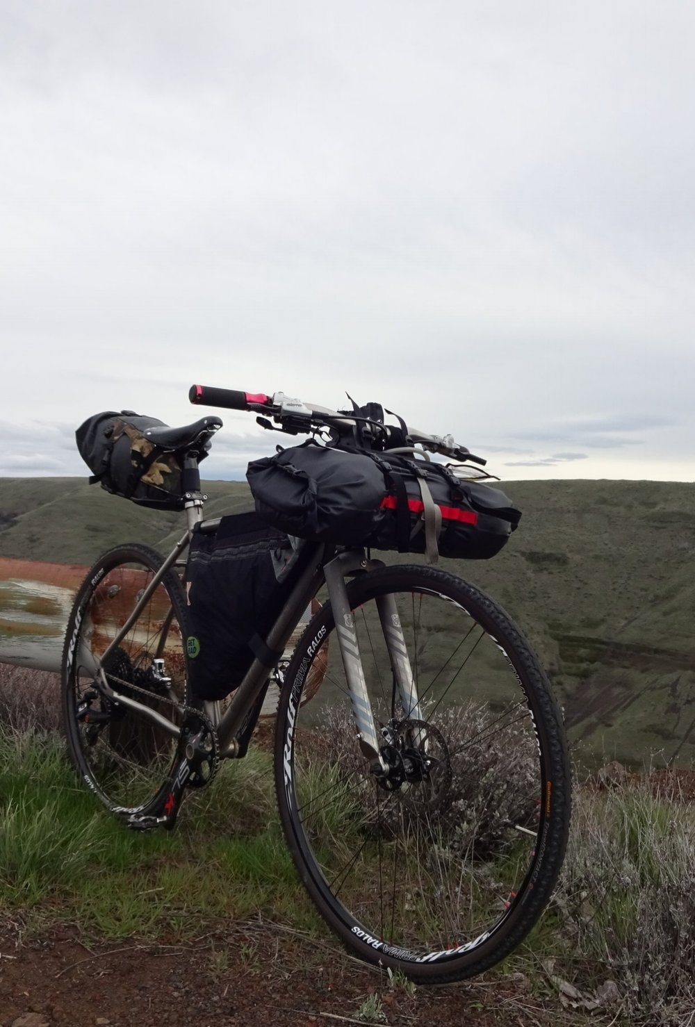 Gravel and cross bikes can also be made to work for bikepacking.