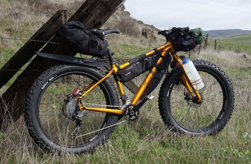 Fat bikes also make great bikepacking rigs!