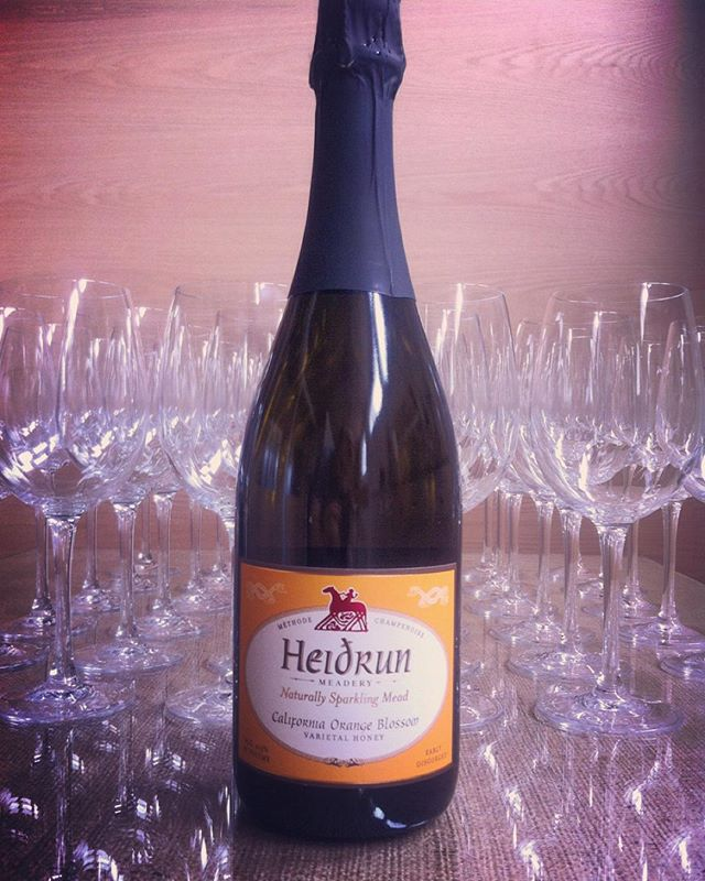 Today is Saturday, and we welcome Carly of Heidrun Meadery who will be pouring her vivacious, naturally sparkling meads.  5-7p. 21+. FREE.  #heidrunmeadery #localcellar #local #california #sanfrancisco #pointreyes #bees #honeywine #naturalwine #sparklingwine #orangeblossom #carrotblossom #mead #meadwine #meadery