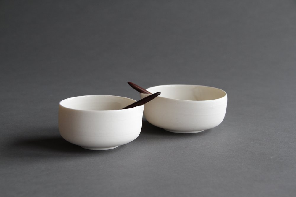 Ceramic tableware bowls by Lilith Rockett, Portland, Oregon