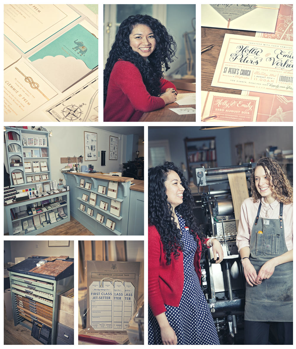 Athena & Zoe @ Meticulous Ink fine stationery