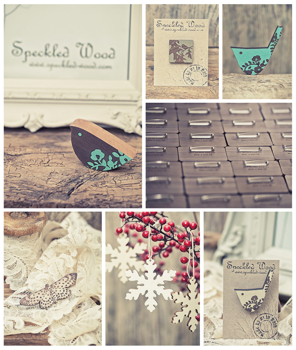 Speckled-wood designs, Bath, UK