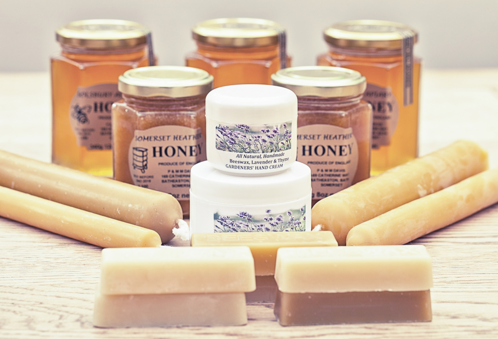 Solsbury Apiary honey and Somerset Heather honey