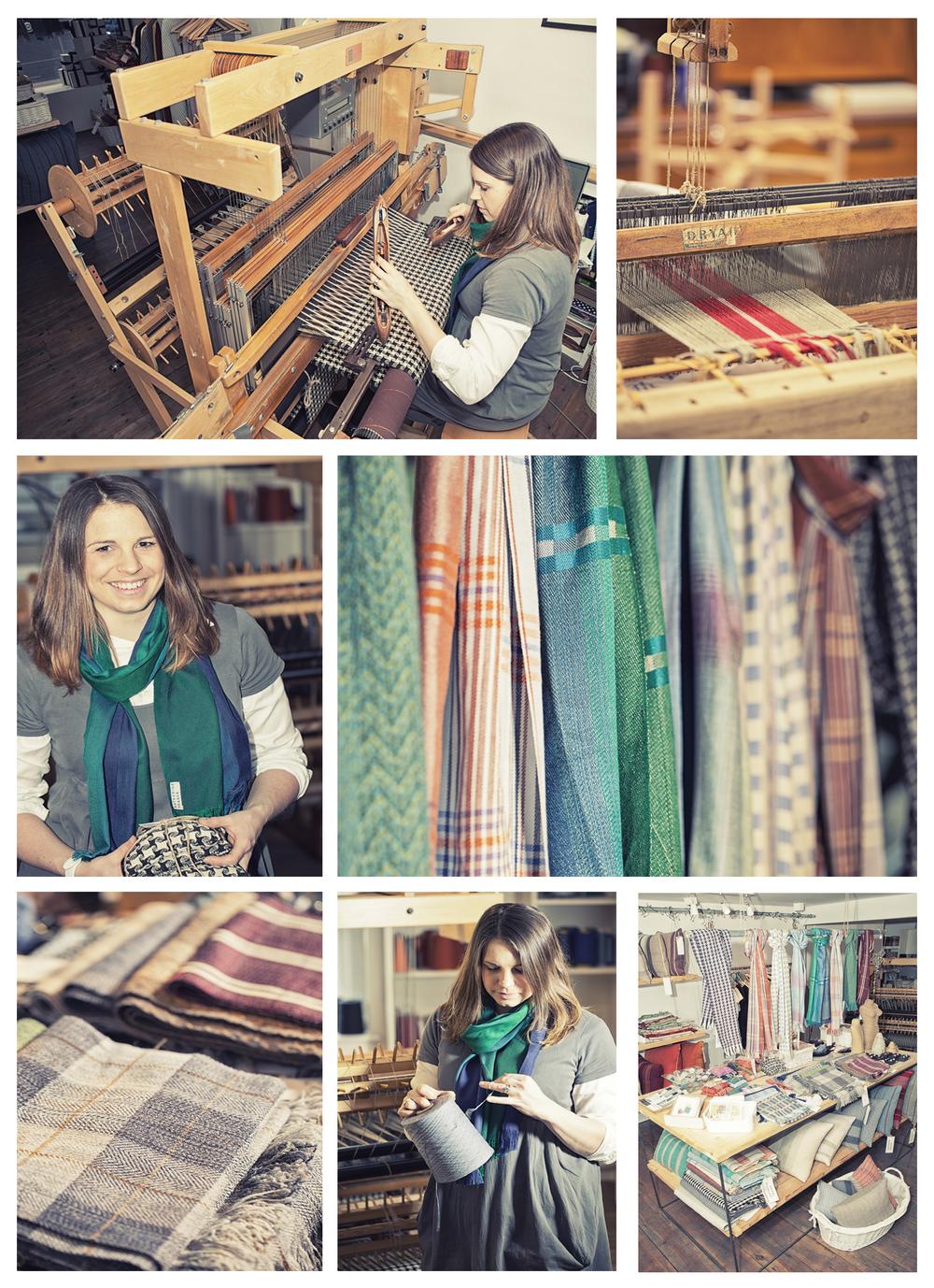 Katherine Fraser, designer-weaver