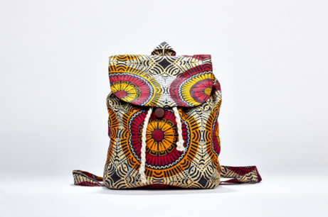 This Chitengne Backback is made by Khama. Click the image to visit their website.