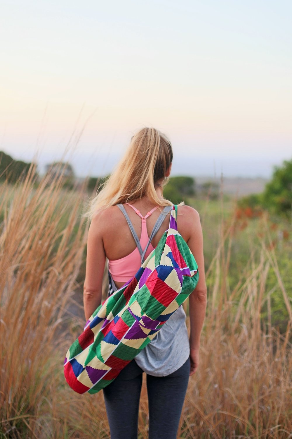 OUR BEAUTIFUL NEW YOGA BAGS