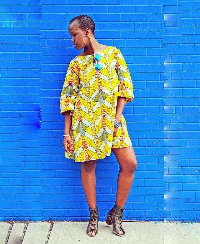Thank you @_zina_a and @shopoasisnyc for the colorful #streetphotography of this gorgeous #newyorker wearing @ikuruproject. Go to link in bio to buy this lovely MANGA dress in different prints. #womenempowerment #madeinafrica #handmadewithlove #ethicalfashion #newyorkfashion #africanprintsinfashion #waxprints