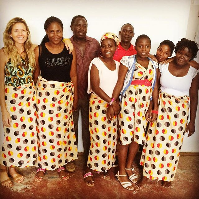 #teamspirit @ikuruproject on #womensday2017 #knowwhomadeit #whomademyclothes #sustainablefashion #ethicalfashion #handmadewithlove #makersmovement #africanprintsinfashion #womenempowerment