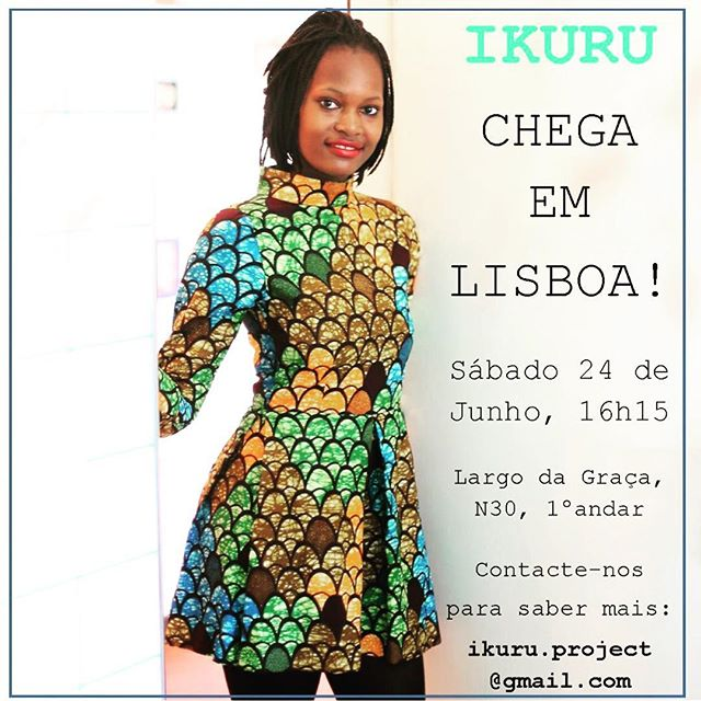 #capulana lovers #moda2017 #modapraia #lisbonlovers #lisboa! @ikuruproject chega amanhã a Lisboa! Apareçam e divulguem a nossa marca de roupa ética, que empoderar mulheres oriundas de meios vulneráveis em Pemba, #moçambique. Obrigada!