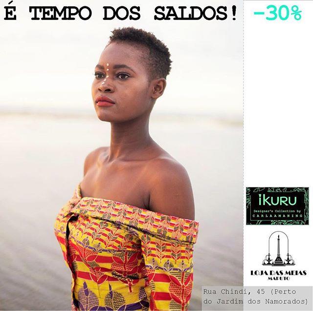@ikuruproject and @lojadasmeiasmaputo #sales #saldos #maputo #capulana #moçambique #modaafricana #moda2017 #waxprints #africanprint #africanprintsinfashion #madeinafrica #handmadewithlove #ethicalfashion #sustainablefashion #womensupportingwomen #capulanas #designercollection