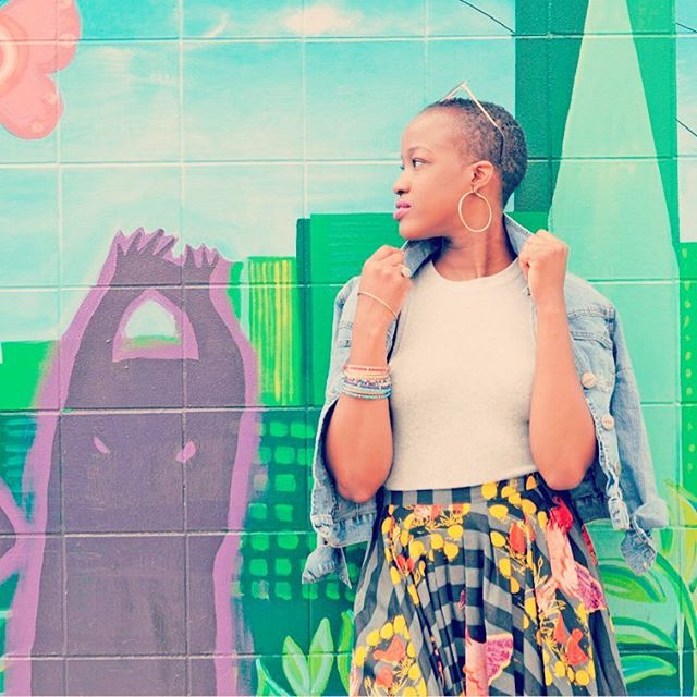 Thank you @_zina_a and @shopoasisnyc for the great #streetphotography of lovely #newyorker @lesocialnomad wearing @ikuruproject, the Designer Collection by @Avadrake. Go to link in bio to buy the gorgeous midi 'chicken' skirt! #womenempowerment #madeinafrica #handmadewithlove #ethicalfashion #newyorkfashion #africanprintsinfashion #waxprints #womenempoweringwomen #designercollection