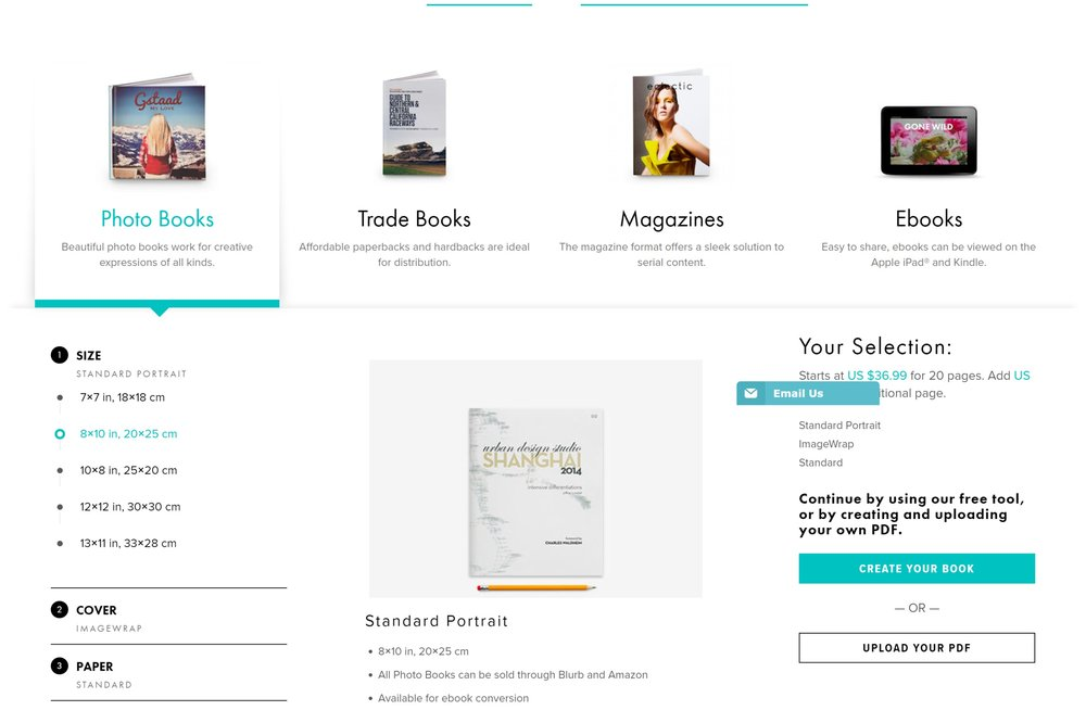 Hardcover Book Pricing (Full-Color