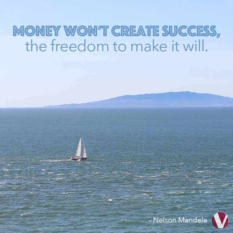 money wont create success the freedom to make it will