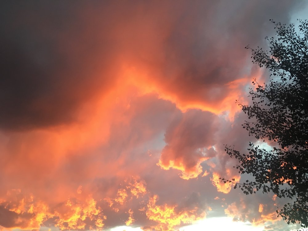 Orange Clouds Cheri Ruskus.jpg