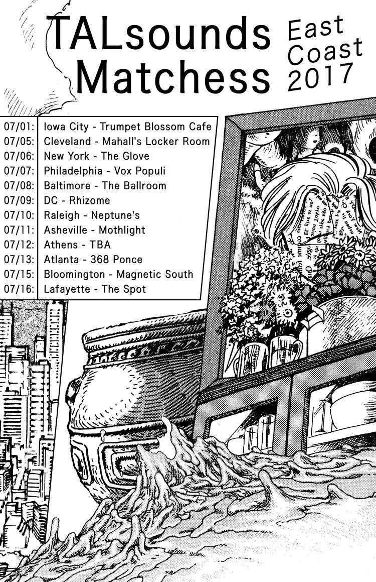 TALsounds On Tour with Matchess — Ba Da Bing Records & Management