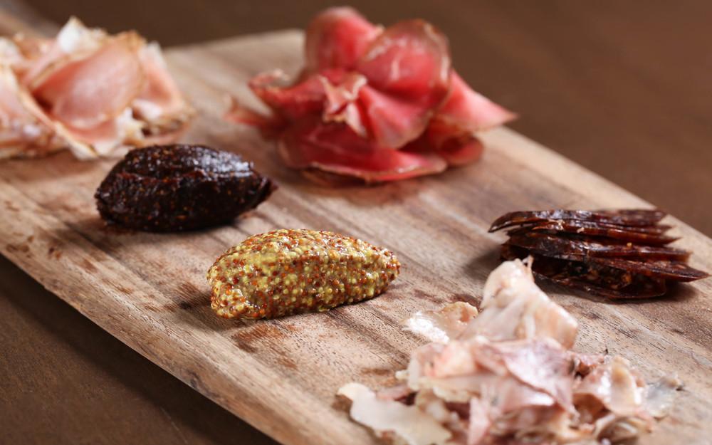 Charcuterie Ham Board