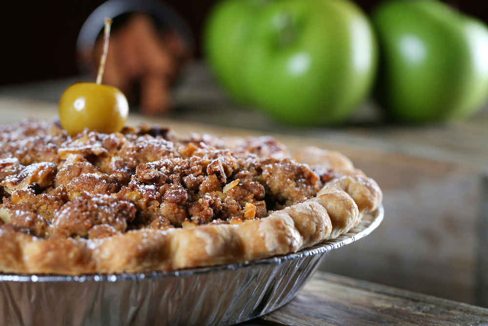 Ellijay Apple Crumble Pie