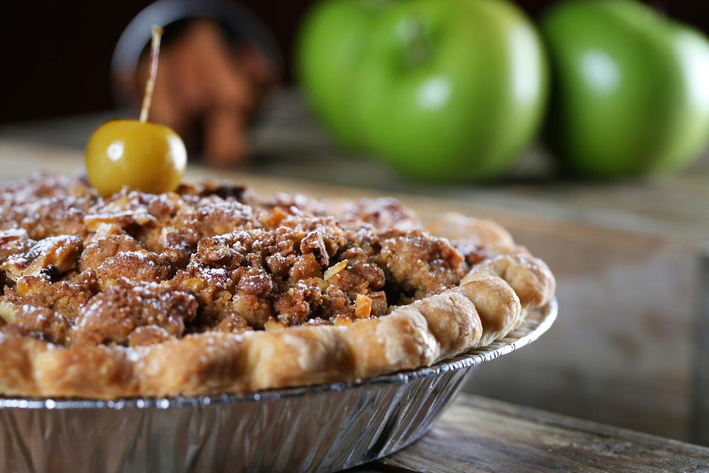 Ellijay Apple Crumble Pie