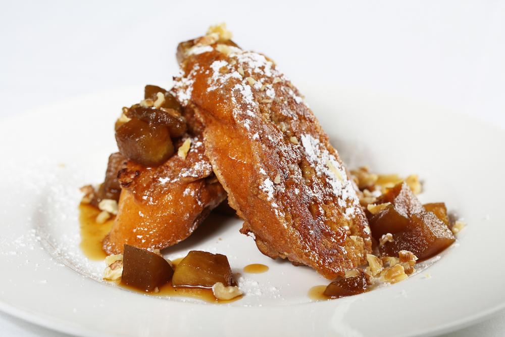 Bourbon Apple Pie French Toast