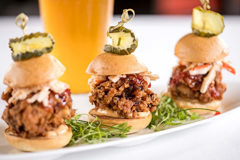 Buttermilk Fried Chicken Sliders
