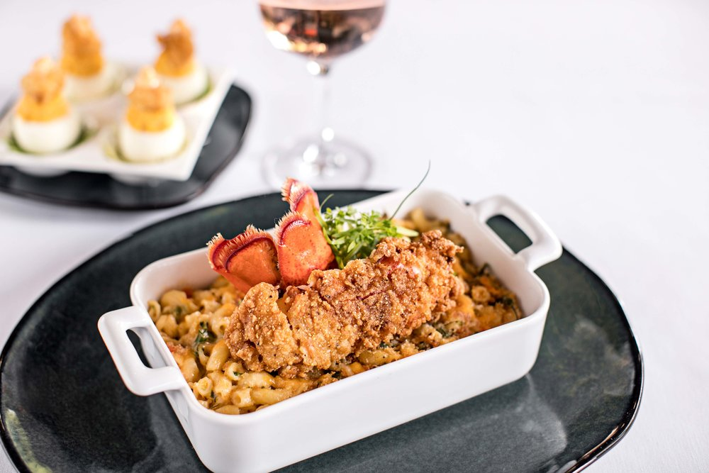 Lobster Tail Macaroni and Cheese