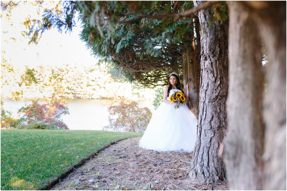 Ashleigh Laureen Photography Journalistic Fall Wedding in Hooksett, New Hampshire, Bride