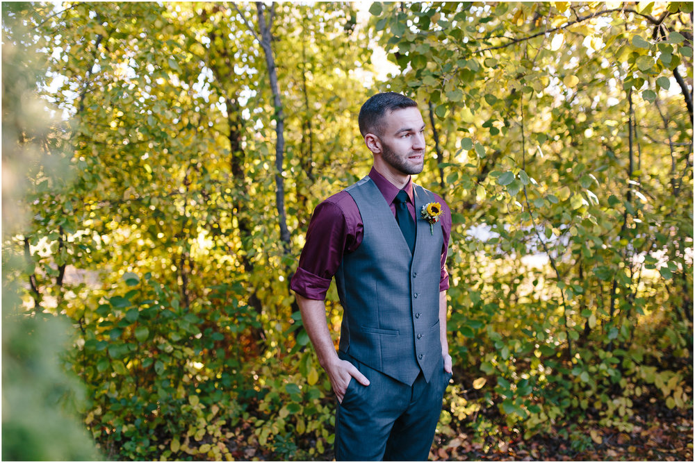 Ashleigh Laureen Photography Journalistic Fall Wedding in Hooksett, New Hampshire, Groom
