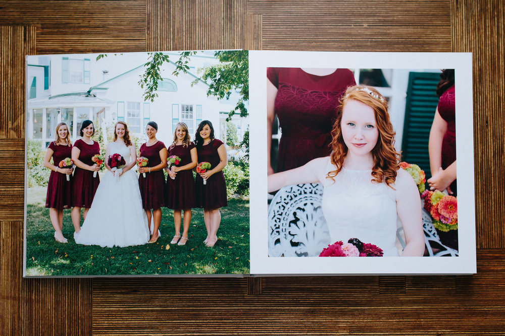 Wedding Heirloom Album from Ashleigh Laureen Photography