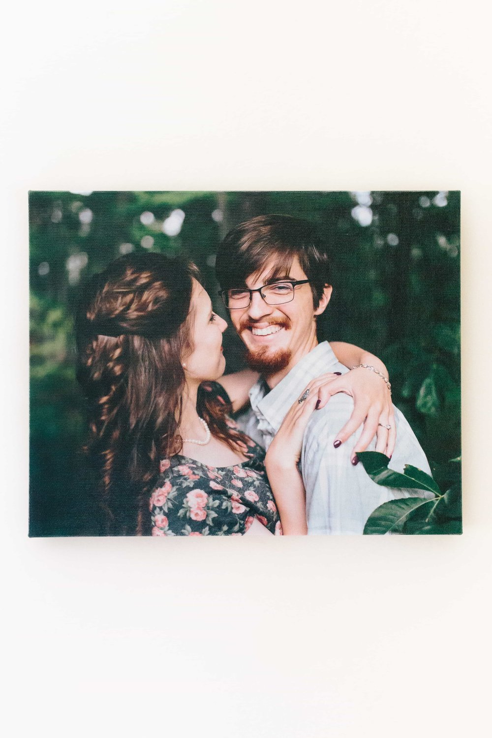 Ashleigh Laureen Photography New Hampshire Engagement Canvas Wall Art