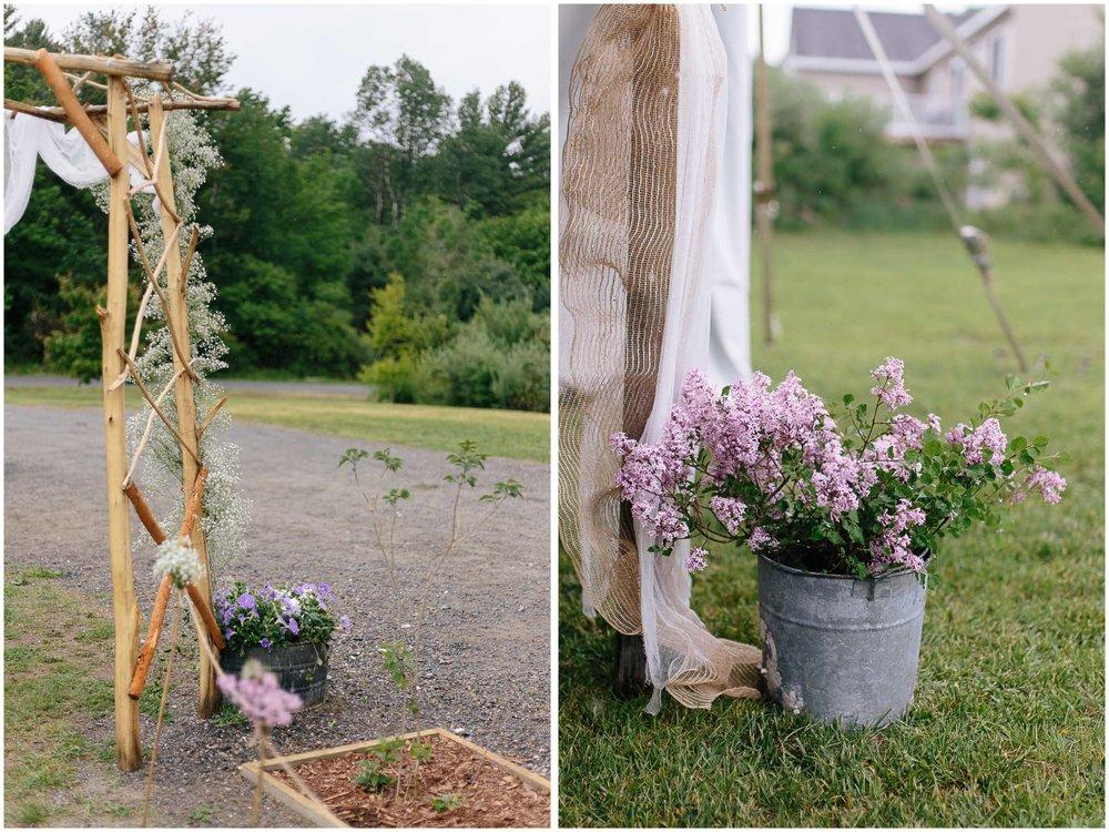 Charming Massachusetts countryside journalistic wedding by Ashleigh Laureen Photography
