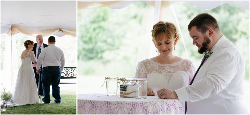 Charming Massachusetts countryside journalistic wedding by Ashleigh Laureen Photography - sands of unity, laughter