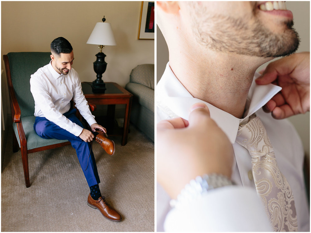 Scenic New Hampshire Wedding at Atkinson Resort and Country Club - Groom