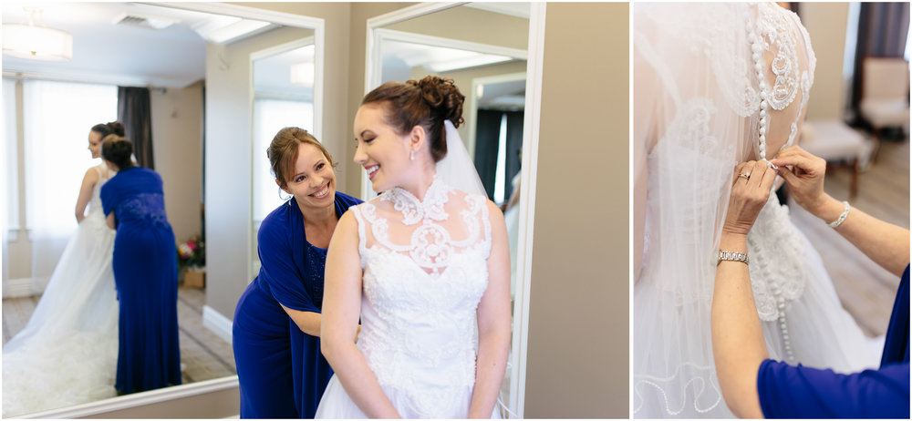 Chic New Hampshire Wedding at Manchester Country Club Bedford - mother of the bride