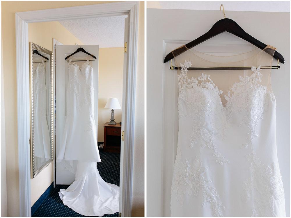 Nautical Massachusetts Jewish Wedding in the Boston Navy Yard bridal gown/wedding dress