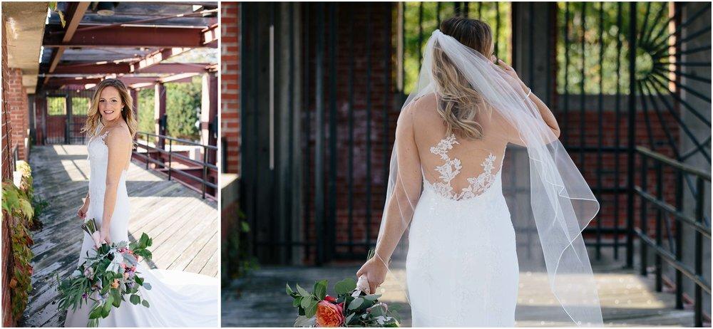 Nautical Massachusetts Jewish Wedding in the Boston Navy Yard bride