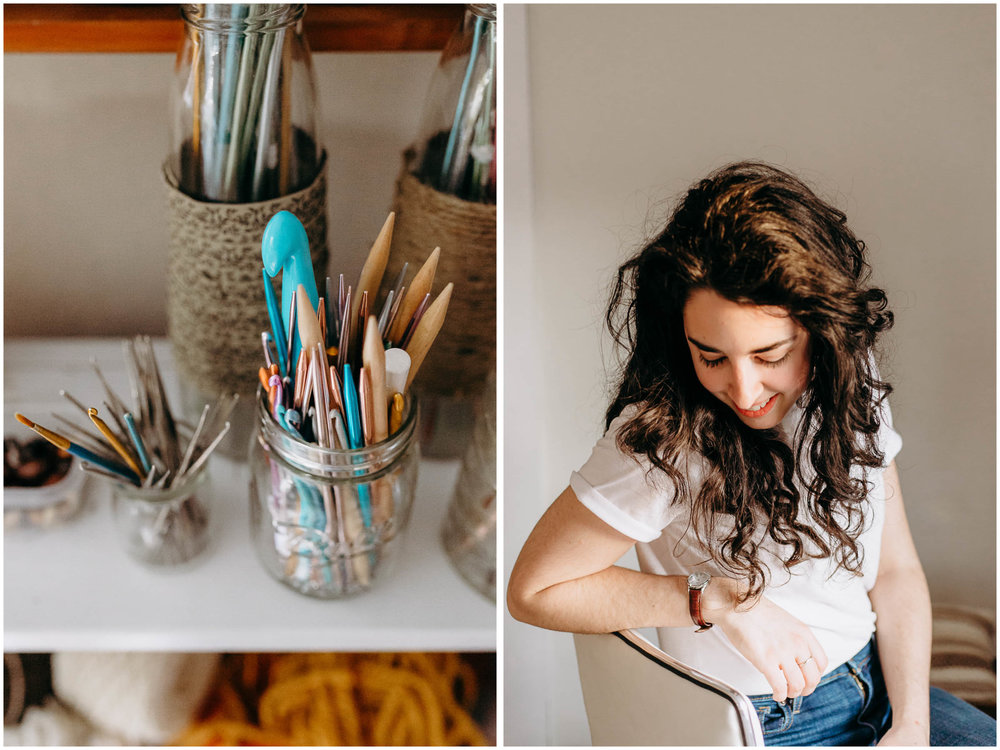 Melody Fulone Fiber Artist, Goffstown, New Hampshire Lifestyle Photographer