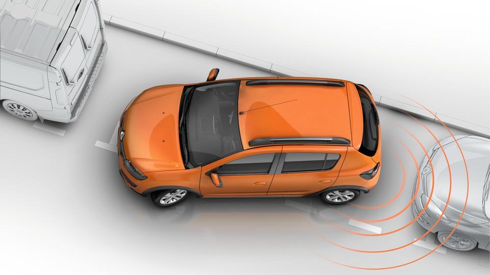 Nuevo+Renault+Sandero+Stepway+ +Sensor+estacionamiento