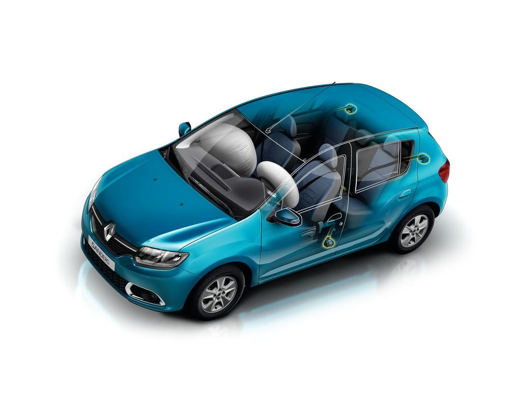 Nuevo+Renault+Sandero+ +Airbag