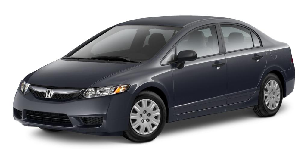 2010 Honda Civic Sedan DX 4dr Sedan Exterior 3