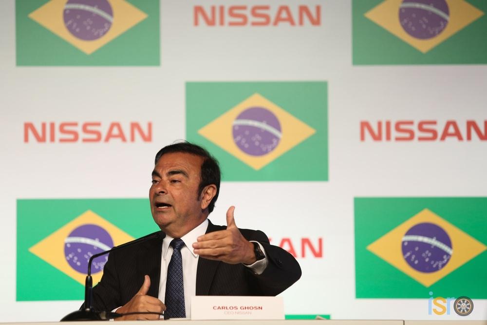 Carlos Ghosn, CEO Global de Nissan.
