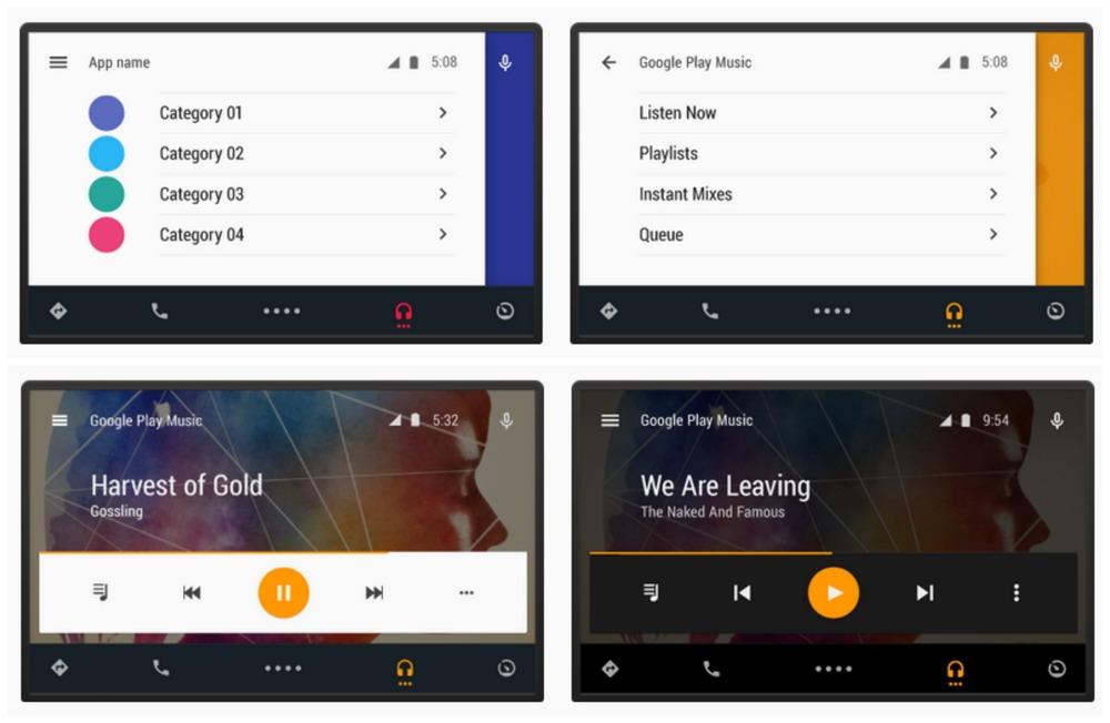 Android Auto permite visualizar aplicaciones del smartphone en la pantalla del vehículo. ©Phandroid.com