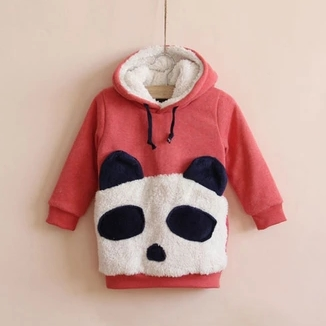 Pink Panda Toddler Sweatshirt